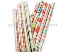 Rolled Christmas design wrapping paper