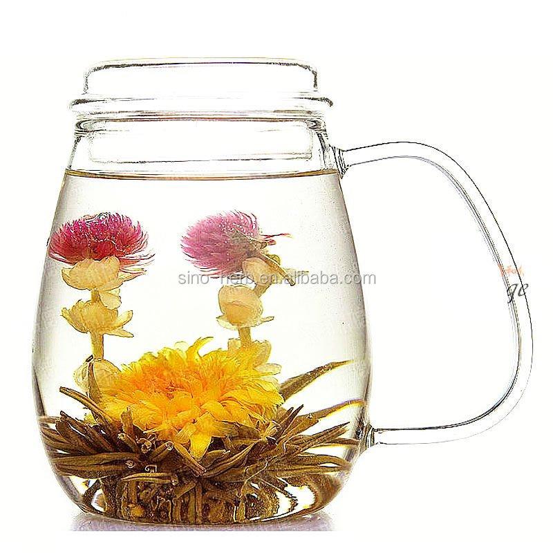 Natural Handmade Healthy Beauty Blooming Tea Flower Tea Ball - 4uTea | 4uTea.com