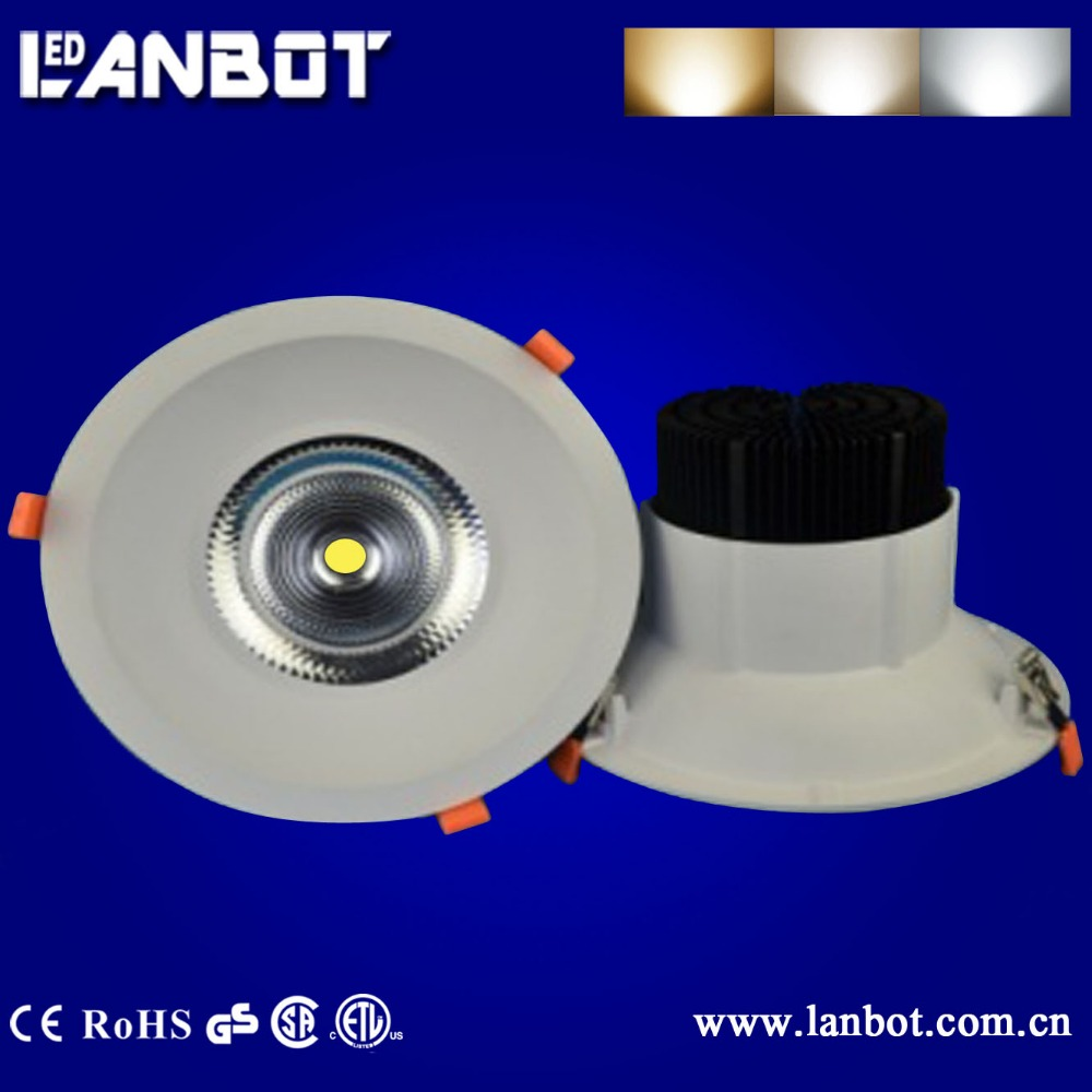 "UL 60w 70w LED Daylight Recessed LED Down Lighting 8"" LED Downlight"