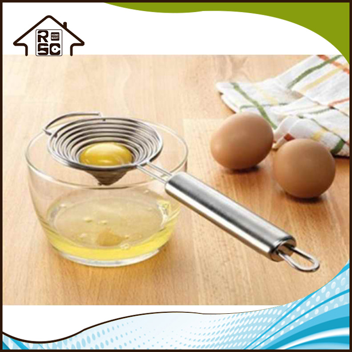 NBRSC Funny Stainless Steel Cheap Egg White Yolk Separator Wire Divider Filter Home Kitchen Tool