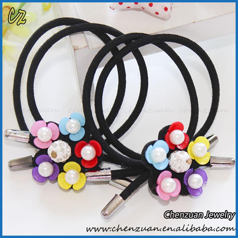 Fashion Girls Neon Small Elastic Hair Bands Tie For Kids Wholesale ... bb746b784da