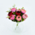 Colorful artificial flower silk fabric artificial rose tea flowers for home decoration