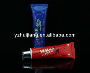 50ml vimax power man travel set cosmetic plastic tube with two