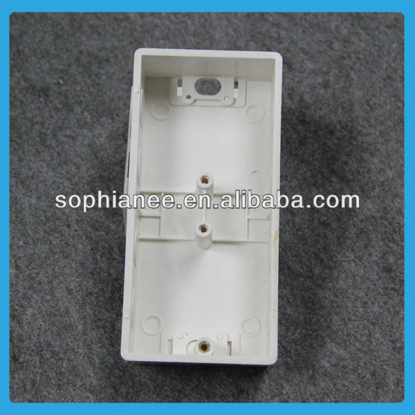 Wholesale 2 Gang PVC Flush Plastic Electrical Box