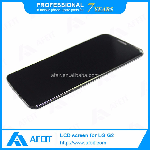 Original Lcd Display Screen Accessory for LG G2 display