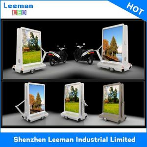 building a mobile billboard truck solar powered trailers led sign rs232
