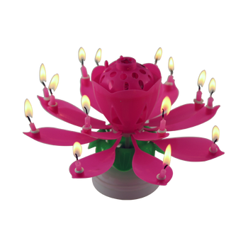 2017 best seller 14 candles music birthday candle for birthday party decoration