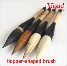 Chinese calligraphy brush pen mixed hairs hopper-shaped brush for artist painting caligraphy