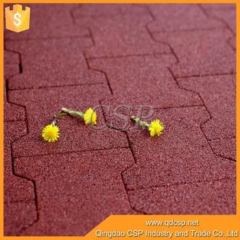 Walkway Dog Bone Rubber Tilesoutdoor Rubber Flooring Bricks Buy