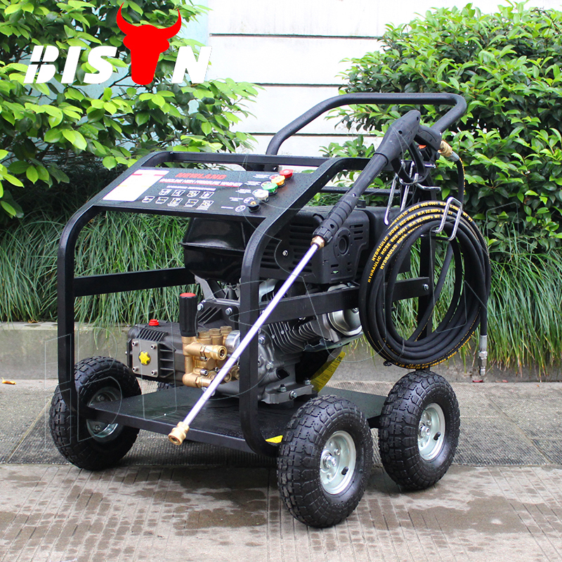 Bison (China) New Type BS200B 2900 PSI Household Portable 200Bar Petrol Power Jet Pressure Washer For Home