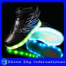 High quality led flexible strip light,light shoes for kids Xmas shoes with light up led