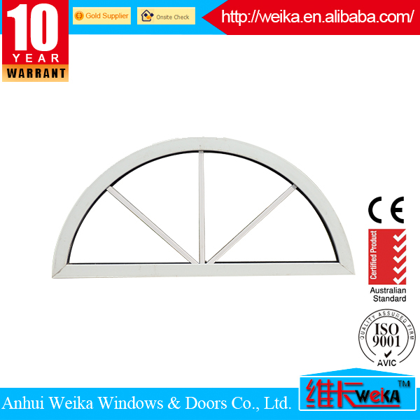 Half moon fixed and sliding aluminum sliding window and door
