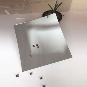 Custom size aluminum mirror glass magnifying mirror sheet magnifying sheet