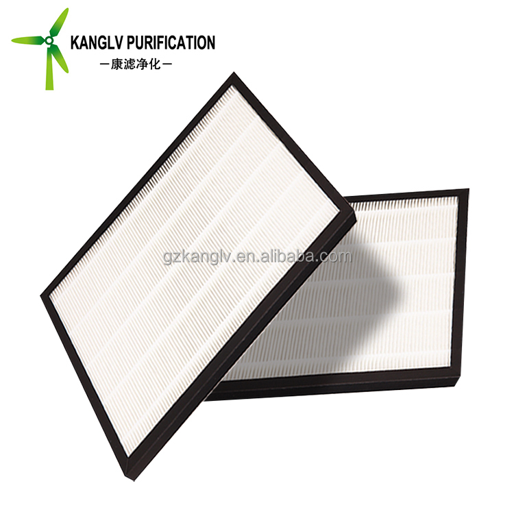 High quality 2 inch extended surface pleated air filter, 1 micron paper air filter