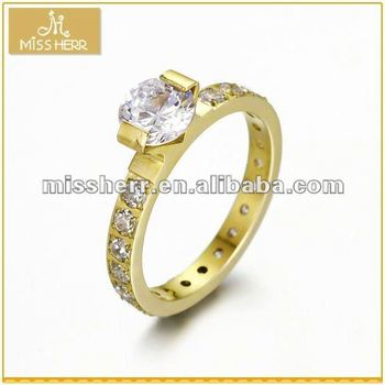 Wholesale fashion gold rings design for women with price