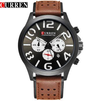 de7524f1b Curren M8244 Brand Luxury Chronograph Quartz Watches Men Sport ...