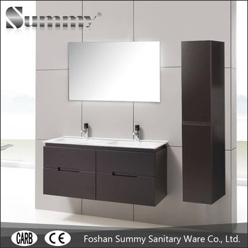 47 Unique Design Wall Mounted Lowes Bathroom Vanity Cabinets With Curved And Side Cabinet