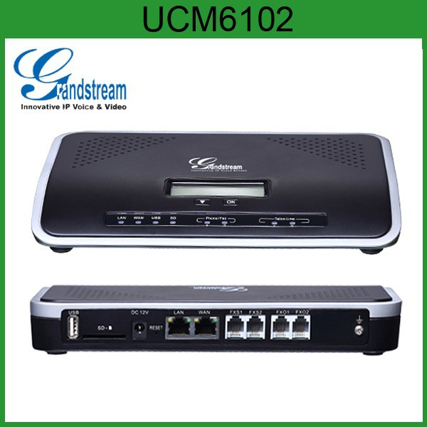 Grandstream UCM6100 series VoIP Gateway IP PBX UCM6102 UCM6104 UCM6108 UCM6116