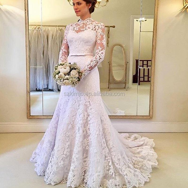 Venta al por mayor vestidos novia corte sirena-Compre online los ...