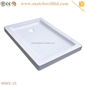 ceramic stainless steel acrylic shower base and pan