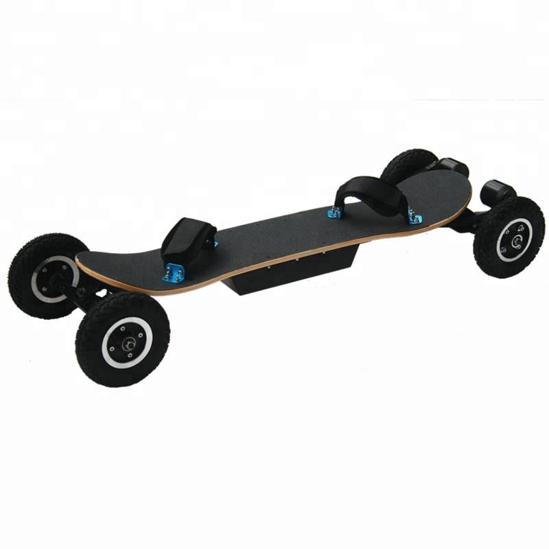 High speed 50KM/H 4 wheels motorized mountain board off road electric skateboard for Sale