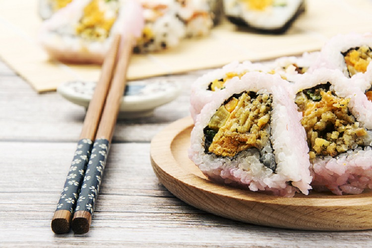 Healthy Handmade Sushi Tool High quality Sushi Mat,Wholesale 3-Pieces With Fancy Bag No-stick Professional Sushi Maker Kits