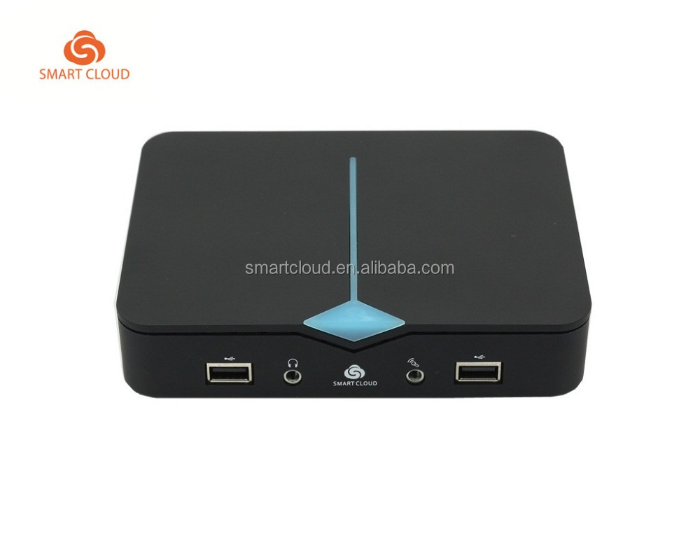 High Performance mini PC Intel Z3735F thin client Support dual monitors Smart PC Cloud Client Computing