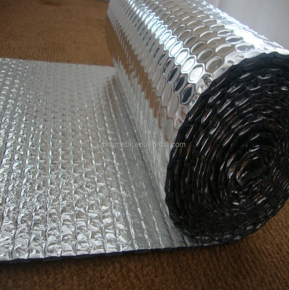 Double Sided Aluminium Foil Insulation For Roof And Wall
