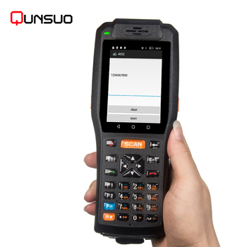 2020 newest Professional Rugged Barcode Scanner PDA Android WiFi/3G/4G/NFC/RFID/PSAM/Built-in Theremal Printer/Camera Combo