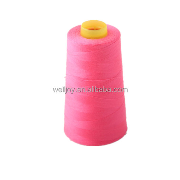 dyed pattern sewing thread for T/C shirt fabric