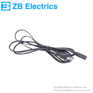 America ETL power cord Two pin plug power cord price