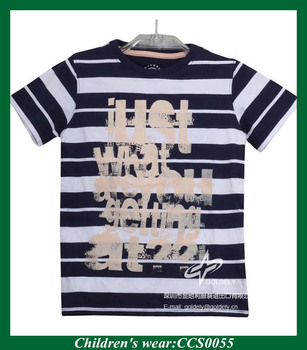 50 Cotton 50 Polyester Screen Printed Infant Boy T Shirts