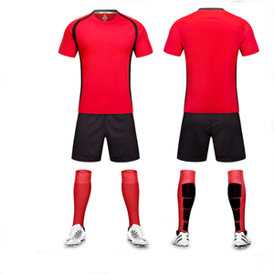 Blank college Football sports t shirt maker custom youth/kids soccer jersey uniform sets manufacturer made in china