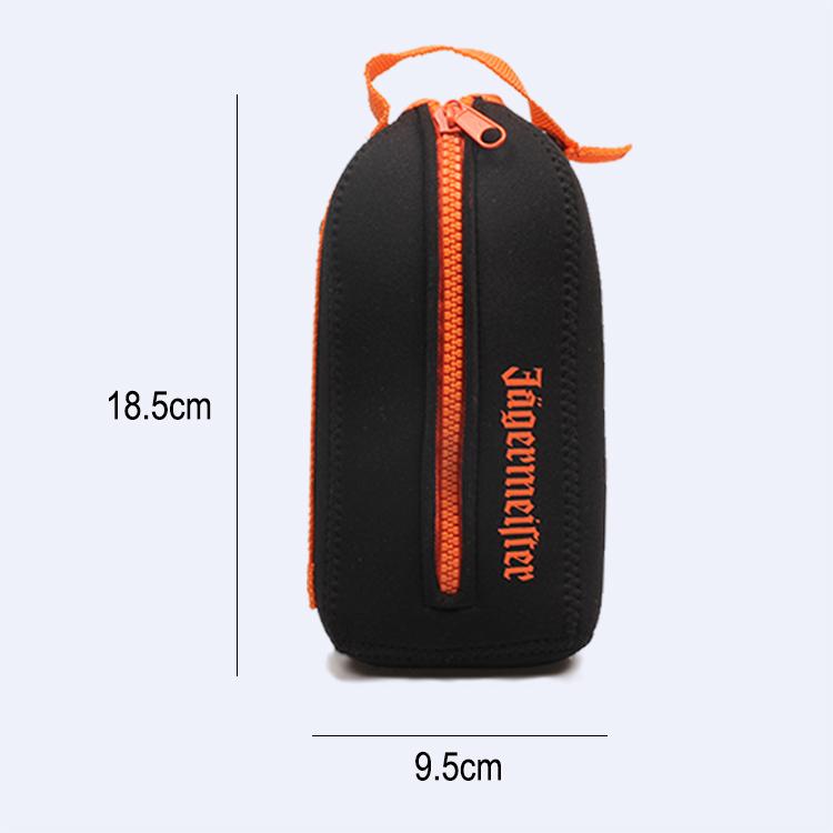 Promotional Custom Neoprene Wine Bottle Cooler Bag For