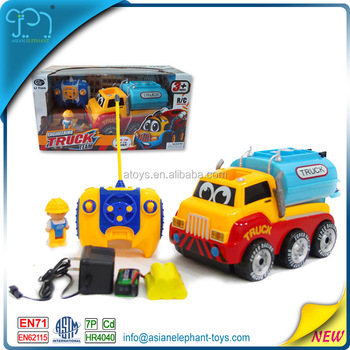 4 Channel Rc Cartoon Car 4wd Tractor 4wd Toy Car 4wd Mini Truck For