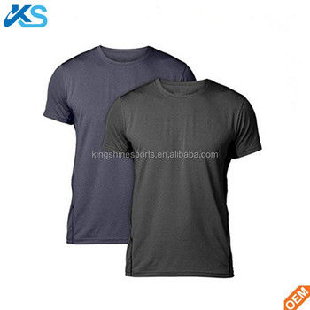 Wholesale Men's Short Sleeve Sports T shirt OEM Men's Quick Dry Workout Tee For Running Gym