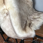 High quality super soft long hair animal tip dyed faux fur fabric