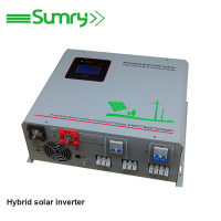 500w to 6kw dc to ac pure sine wave hybrid solar inverter with mppt controller
