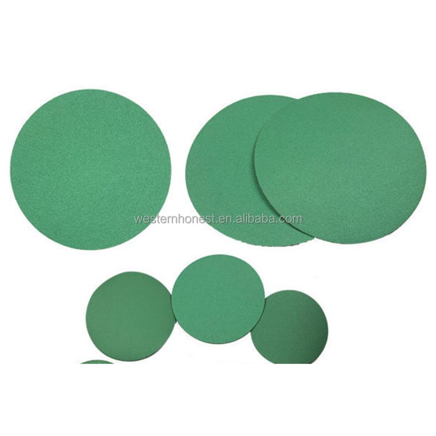 25PCS 9Inch 225mm Resin Aluminium Oxide Sanding Disc Pads 10 Bore Sandpaper Grit