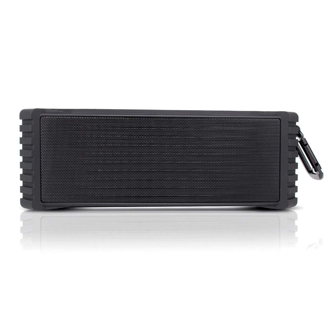 GJX Private Mode Outdoor Bluetooth Speaker, ABS Plastic + Iron Mesh Subwoofer, Portable Wireless Bluetooth Audio Three Anti-bluetooth Speaker