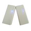 dual USB output 18650 power bank diy kit 15000 mah powerbank with led torch