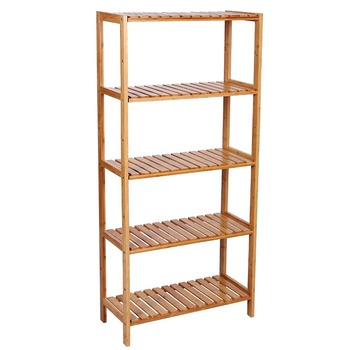 5 Tier Bambus Bad Regal Einheit Lagerung Stehen Regale Schuh Rack - Buy  Bambus Schuh Rack,Bambus Lagerung Stehen,Bambus Regal Einheit Product on ...