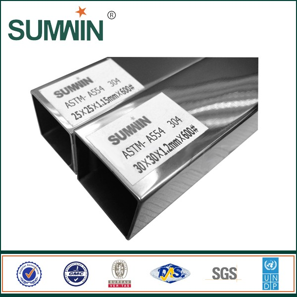 superior Round/Square/Rectangle Stainless steel pipe