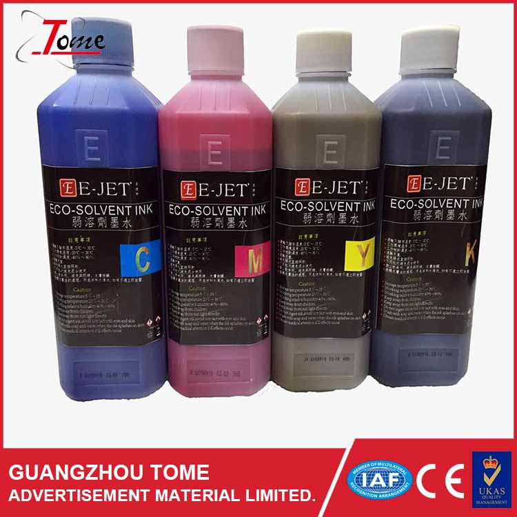High Quality Original Eco Solvent Ink/ Allwin D*4/ D*5/ D*7 Environmental eco sovlent ink by LC