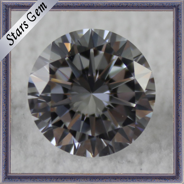 China fantastic Europe star cut gemstones 10 mm cubic zircon stones for jew