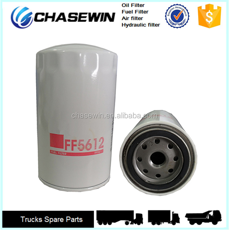 auto engine fuel systems parts diesel fuel filter ff5612