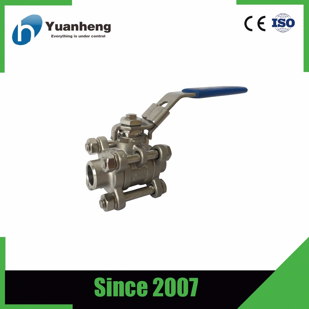 BSP Thread 2 inch stainless steel ball valve ss304