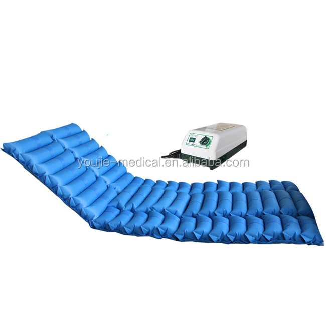 PVC weaving mattress Anti bedsore ripple mattress medical care mattress