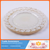High Quality Elegant Gold Shell Charger Plate for Wedding Decoration