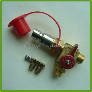 Hot sale auto gas lpg cng fill filling valve for ecu kit